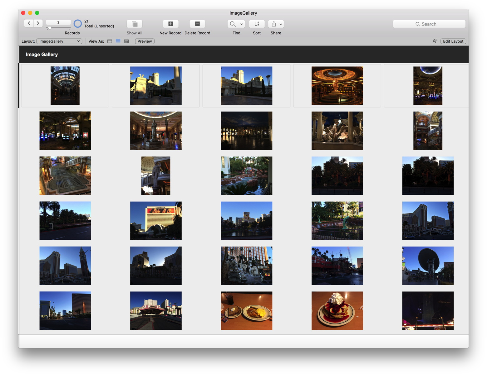 MBS Blog - Image Gallery in FileMaker using SQL